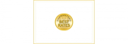 The best rate is only here!